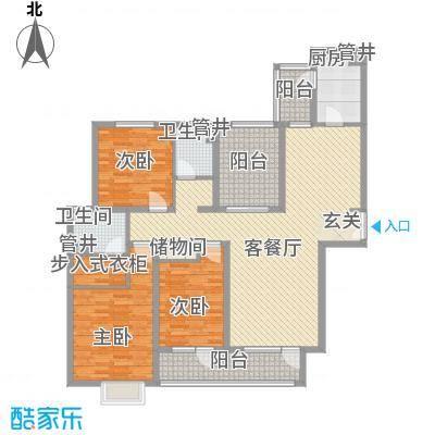 鹏欣・水游城178.51㎡户型