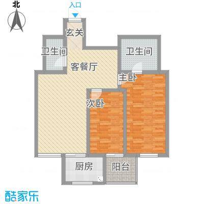 华兴太阳城・东领伯爵img215_副本户型