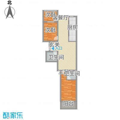 华兴太阳城・东领伯爵img217_副本户型
