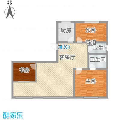 天成家园12.00㎡129东(1304)户型