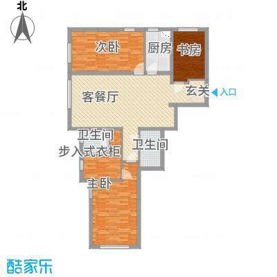 辽阳凯旋门广场135.60㎡户型