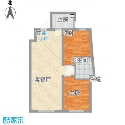 辽阳凯旋门广场82.70㎡户型