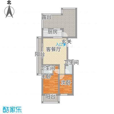 华兴太阳城・东领伯爵1.37㎡C户型