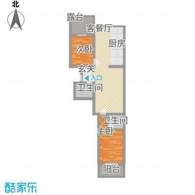 华兴太阳城・东领伯爵12.40㎡9#户型