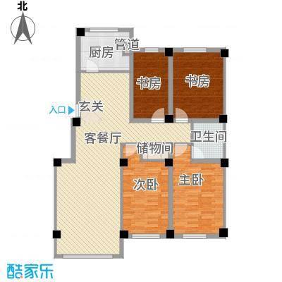 意利黄海明珠12.46㎡户型3室2厅2卫