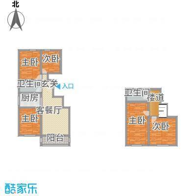 嘉乐园112.25㎡A3户型3室2厅1卫1厨