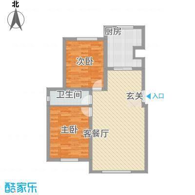 华御・世家8.17㎡户型
