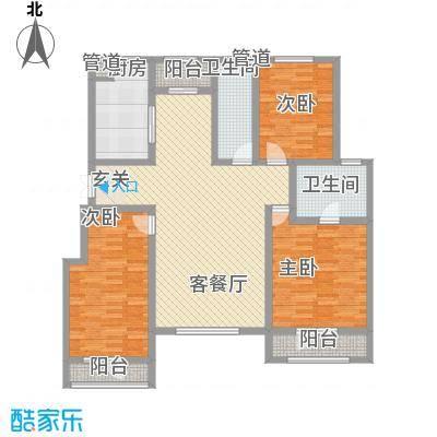 华御・世家137.00㎡户型