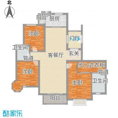 天元蓝城173.10㎡322-17319户型3室2厅2卫