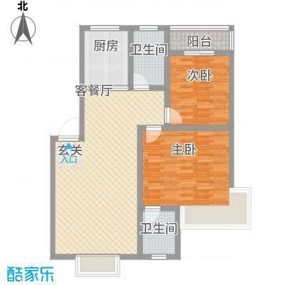 凯丽滨江3.71㎡户型