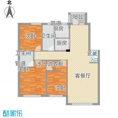 新城壹品2011092517473947476户型