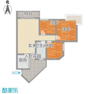 富临晶蓝湖3.30㎡户型