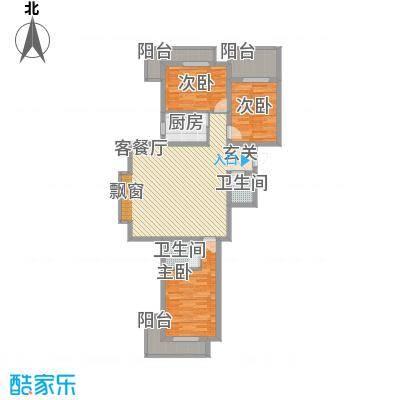 华兴太阳城・东领伯爵img216_副本户型