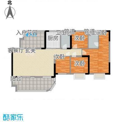 碧桂园・东江凤凰城B户型4室2厅