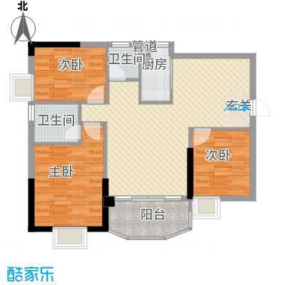 财富名门A4、C4、D4户型3室2厅2卫1厨