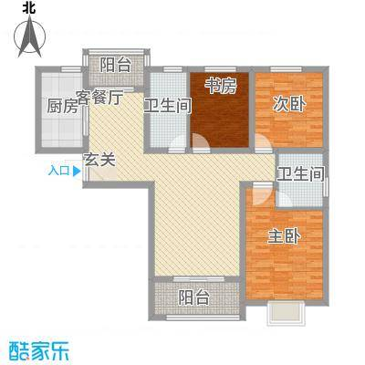 鼎泰・观澜83.52㎡B1户型