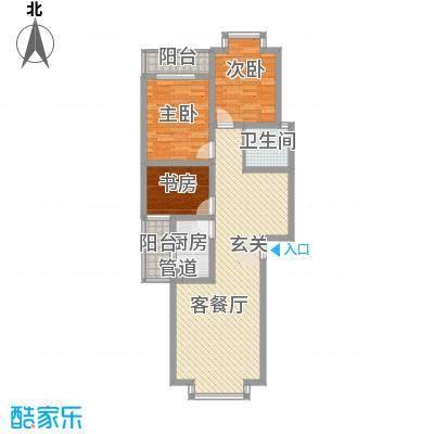 兴发城东逸景8.25㎡G户型3室2厅1卫1厨