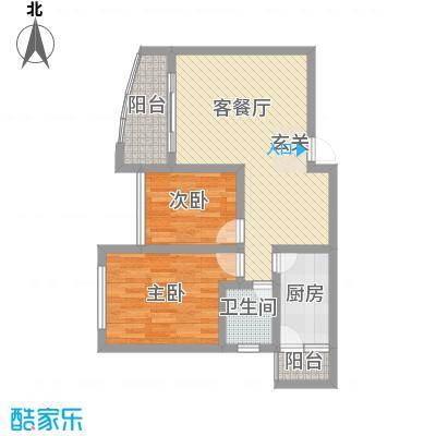 富临晶蓝湖7.00㎡户型