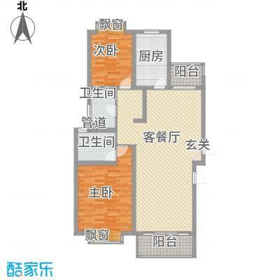 海信盈城7户型2室2厅1卫