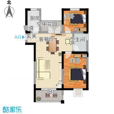汇峰・苹果小镇E1户型-副本