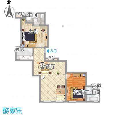 龙禧中心111.20㎡C户型-副本