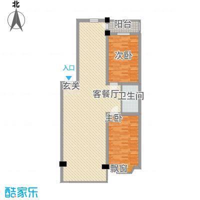 浅草绿阁三期郦水枫霖户型4室