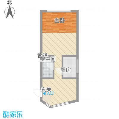 祥瑞家园6.10㎡购物中心户型1室1厅1卫