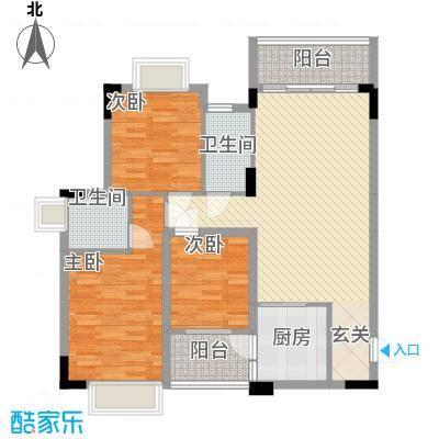 水木清晖园18.60㎡3栋0户型3室2厅2卫1厨