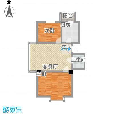秀水馨园2.00㎡户型
