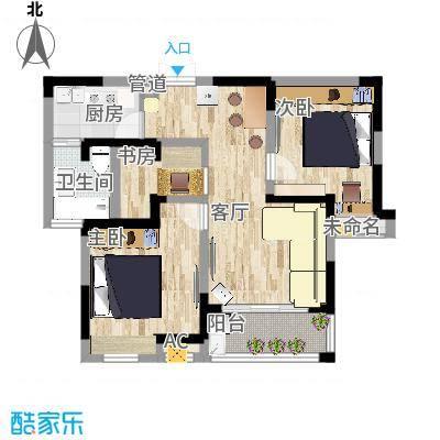 上海_步阳御江金都厕所方案1