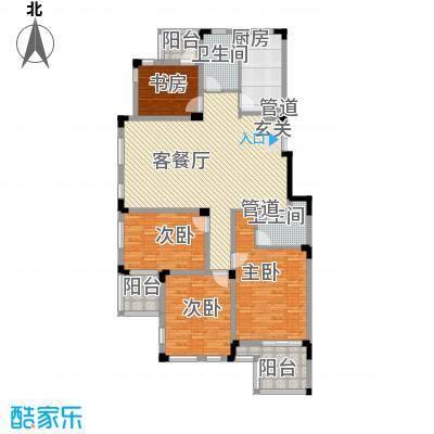 万科西街庭院146.87㎡(电梯版)户型
