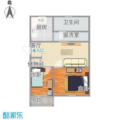兴海苑81方6楼复式