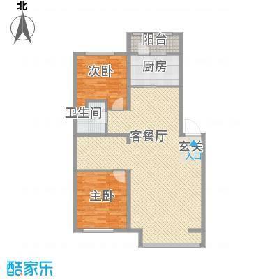 秀水花城11.00㎡I户型