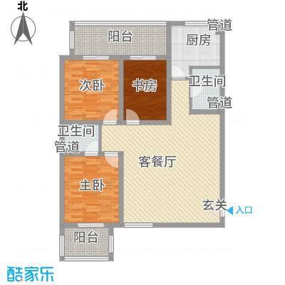 甲壳虫公寓13.52㎡A户型3室2厅2卫1厨