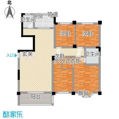 木莲花苑13.00㎡户型4室