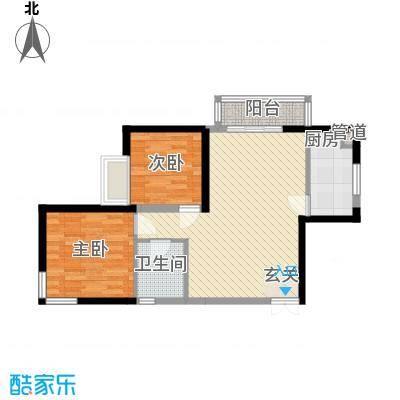湘府9号户型2室