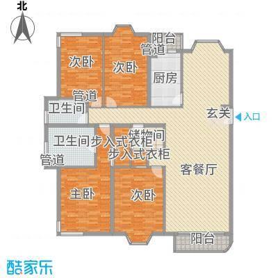 丰泽园户型4室