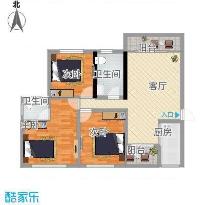 西安_馨悦茗园9-112平米04户型