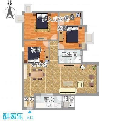 聚福新城66115.77㎡A66户型-副本