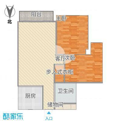 温州_万华锦园_传统厨房-2-衣帽间-大门修改