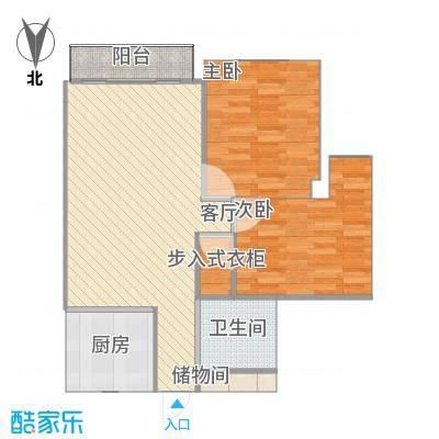 温州_万华锦园_传统厨房-2-衣帽间-大门修改-副本
