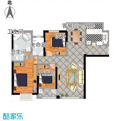 南门首府142.00㎡南门首府户型图户型图C4室2厅2卫1厨户型4室2厅2卫1厨-副本