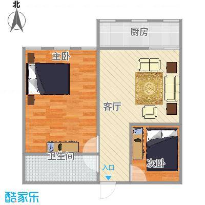 济南_机车新村53平米中户_2015-09-30-1739