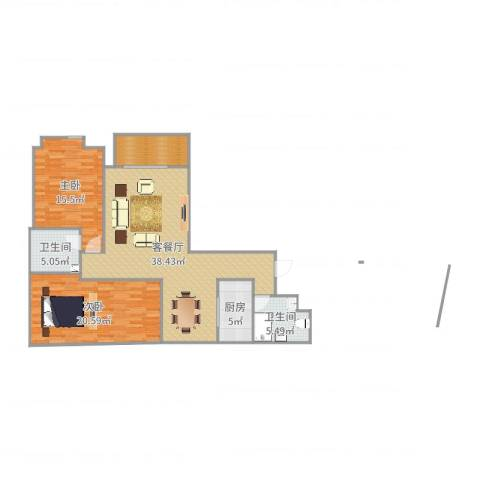 中央学府三室两厅01
