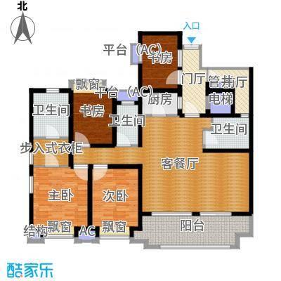 长发都市诸公现代4三室一厅