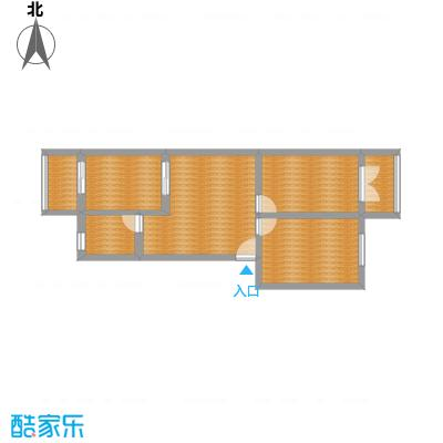 西苑小区两室一厅76平米一楼