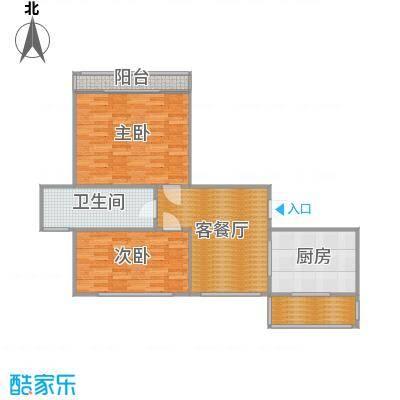 电梯边套2房