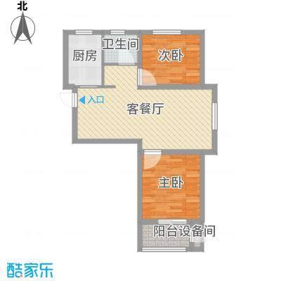 熙凤居75.00㎡A4户型
