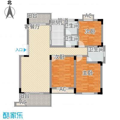 文昌北苑500x500户型-副本