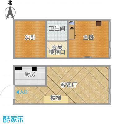 香榭丽舍-1206室设计方案